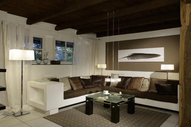 wohnzimmergestaltung braun. Black Bedroom Furniture Sets. Home Design Ideas