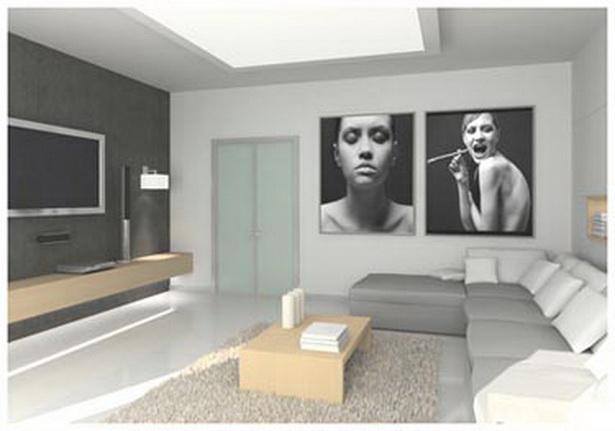 Wohnzimmergestaltung wände