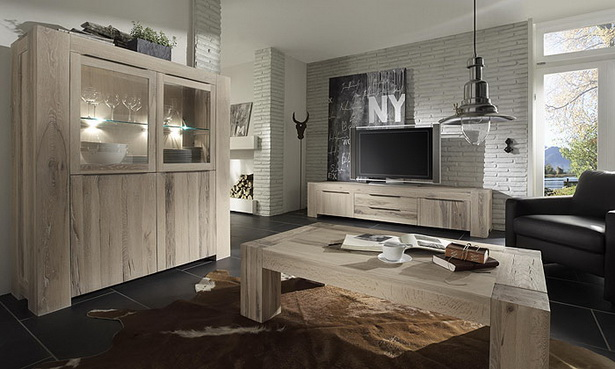 wohnzimmerm bel massivholz neuesten design kollektionen f r die familien. Black Bedroom Furniture Sets. Home Design Ideas