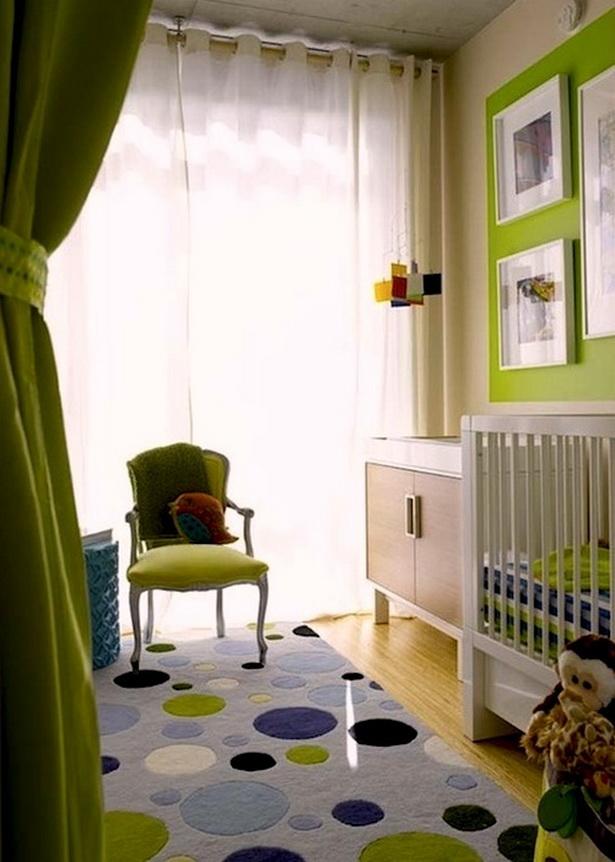 Babyzimmer kreativ gestalten - Babyzimmer farblich gestalten ...