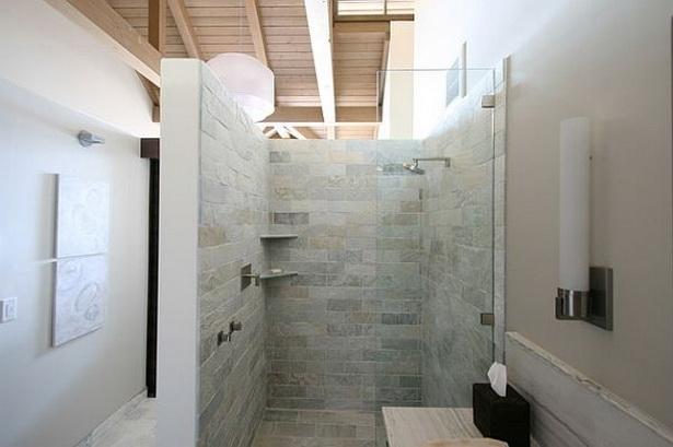 Dusche Ideen Bad : Begehbare Dusche Luxus-Badezimmer Ideen Einrichtung-Glas