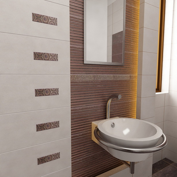 Badezimmer Fliesen: Bad Fliesen Muster