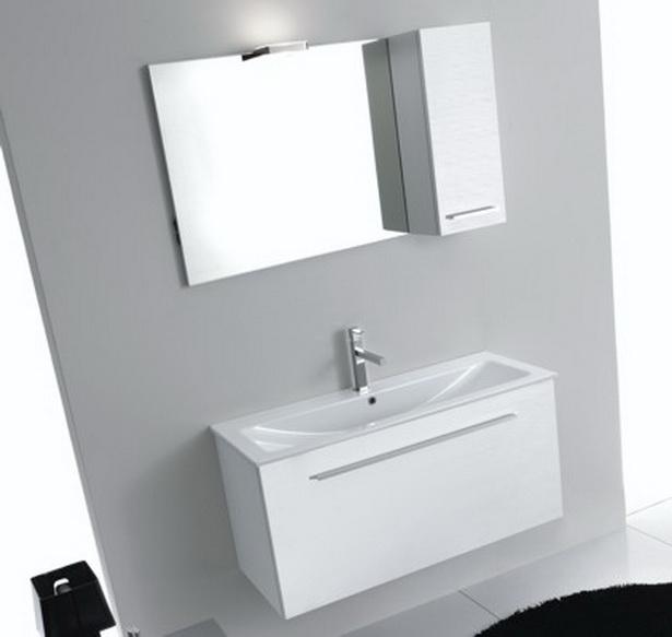 waschtisch 100cm x 40cm f r kleine b der kombiniert mit badm bel. Black Bedroom Furniture Sets. Home Design Ideas