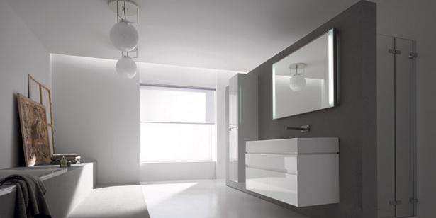 Badezimmer graue w nde inspiration f r - Badezimmer mit grauen fliesen ...