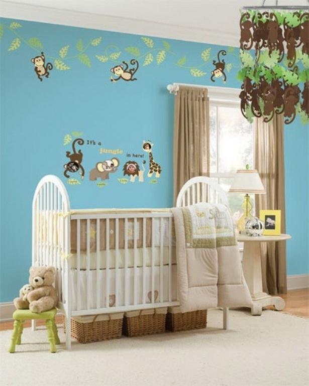 dekoration f r babyzimmer. Black Bedroom Furniture Sets. Home Design Ideas