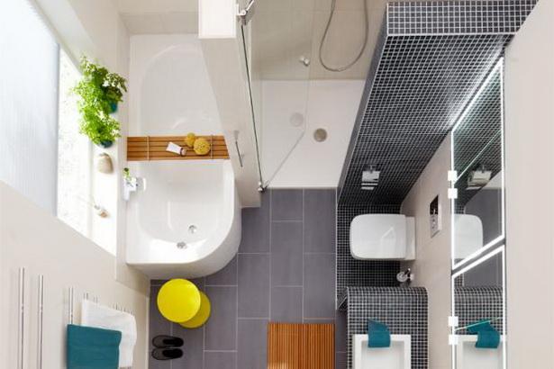 Kleine Bader Mit Dusche Grundriss : Ideen für kleine bäder