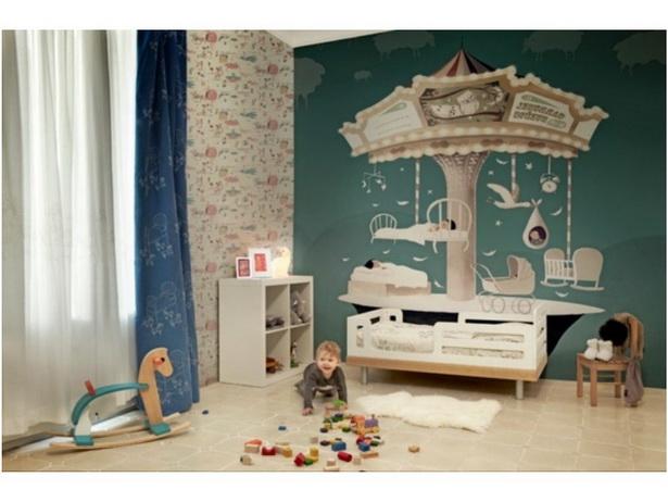 ideen kinderzimmer wandgestaltung. Black Bedroom Furniture Sets. Home Design Ideas