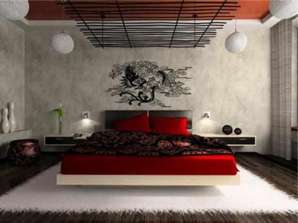 schlafzimmerwand dekorieren wandgestaltung ideen f r