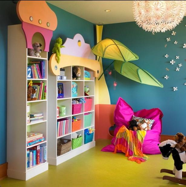 Kinderzimmer bunt gestalten for Kinderzimmer wanddeko