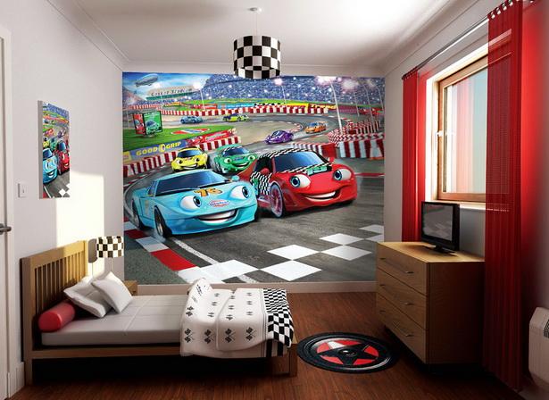 Kinderzimmer cars gestalten
