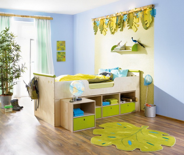 kinderzimmer dschungel gestalten. Black Bedroom Furniture Sets. Home Design Ideas