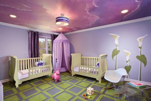 Kinderzimmer-gestalten-mit-Farben-wohnen-ideen-für-wanddeko-