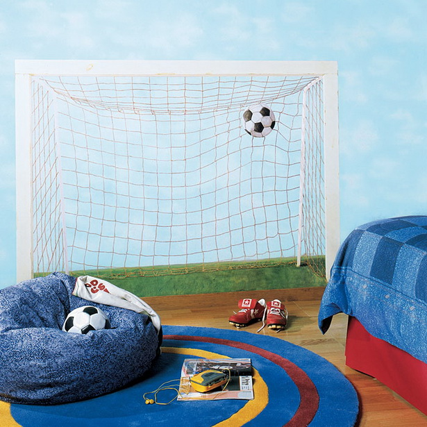kinderzimmer fu ball gestalten. Black Bedroom Furniture Sets. Home Design Ideas