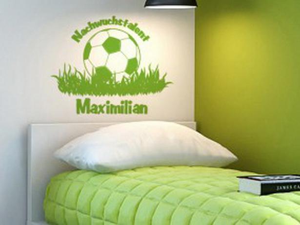 Kinderzimmer fu ball gestalten for Kinderzimmer junge fussball