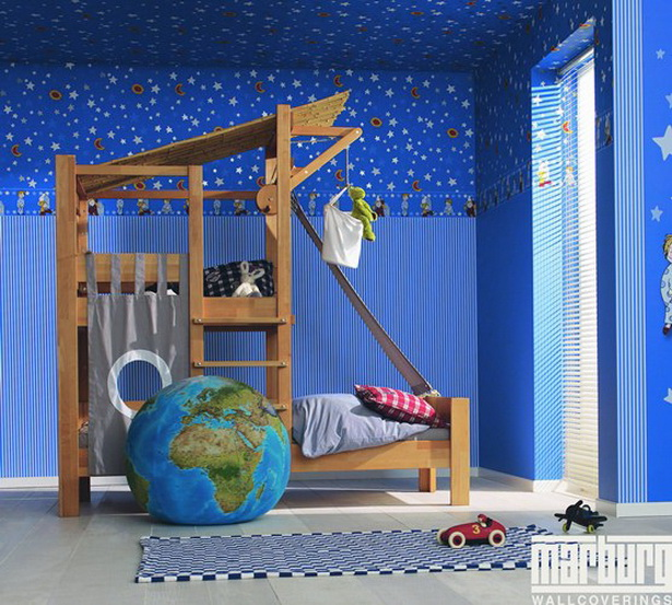 kinderzimmer muster. Black Bedroom Furniture Sets. Home Design Ideas