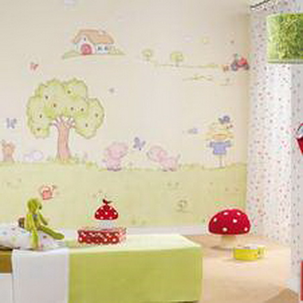 beautiful tapeten f rs kinderzimmer photos. Black Bedroom Furniture Sets. Home Design Ideas