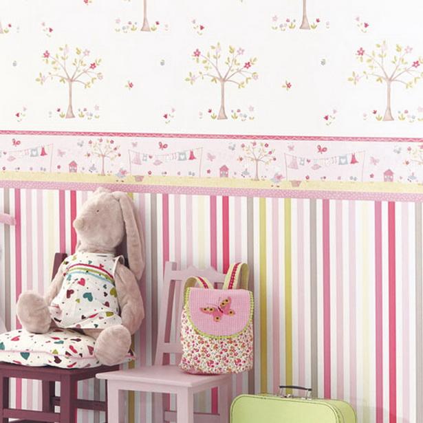 Kindertapeten Mit Tieren : Farbgestaltung: Tapete im Kinderzimmer