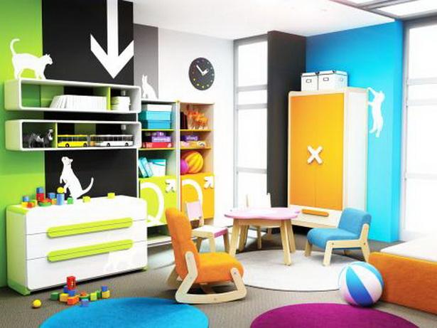 Kinderzimmermöbel bunt