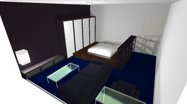 kleine 1 zimmer wohnung einrichten. Black Bedroom Furniture Sets. Home Design Ideas