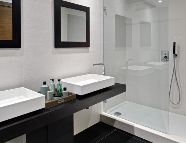 Moderne badfliesen for Modernes kleines bad