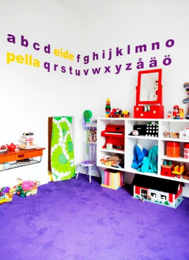spielecke kinderzimmer gestalten. Black Bedroom Furniture Sets. Home Design Ideas