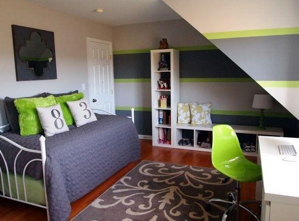 Jungenzimmer gr n - Wandfarbe grun kombinieren ...