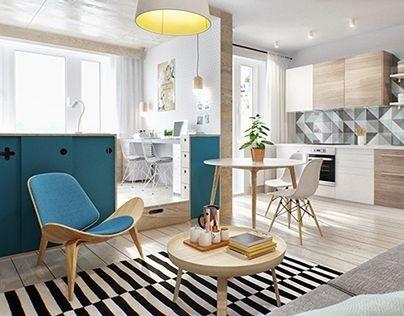 40m2 wohnung einrichten for Wohnung einrichten modern