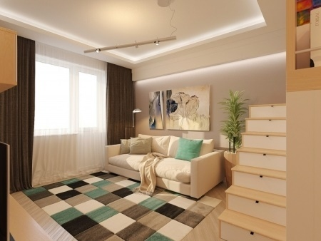 60 qm wohnung einrichten. Black Bedroom Furniture Sets. Home Design Ideas