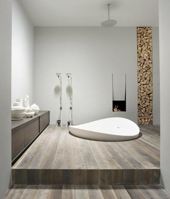 Ideen Moderne Badezimmer Mit Fliesen Stil: Bäder Im Modernen Landhausstil