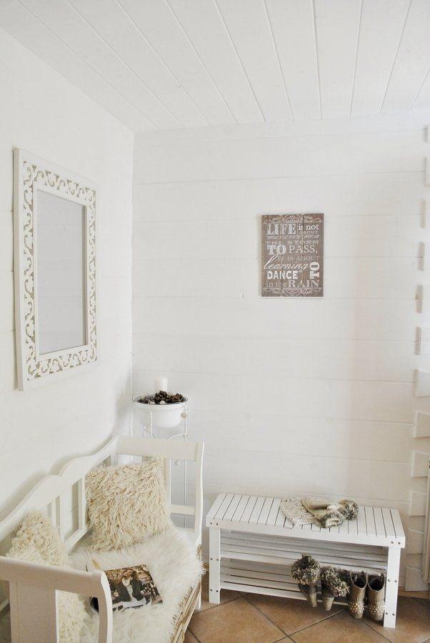 einrichtungsideen flur landhaus. Black Bedroom Furniture Sets. Home Design Ideas