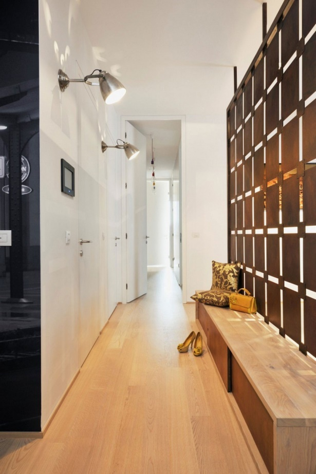 Beautiful Farbgestaltung Im Flur Eingangsbereich Pictures ...