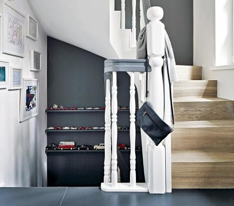 Farbgestaltung flur treppenaufgang
