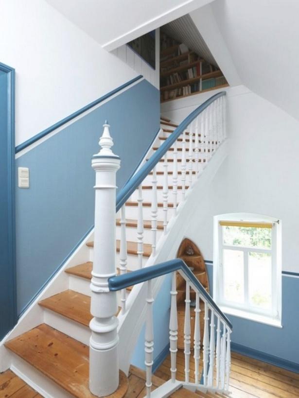 Farbgestaltung treppenhaus altbau