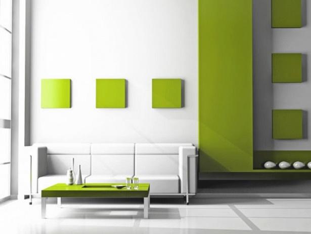 Flurgestaltung mit farbe for Wandgestaltung mit farbe