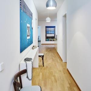 garderobe f r sehr schmalen flur. Black Bedroom Furniture Sets. Home Design Ideas
