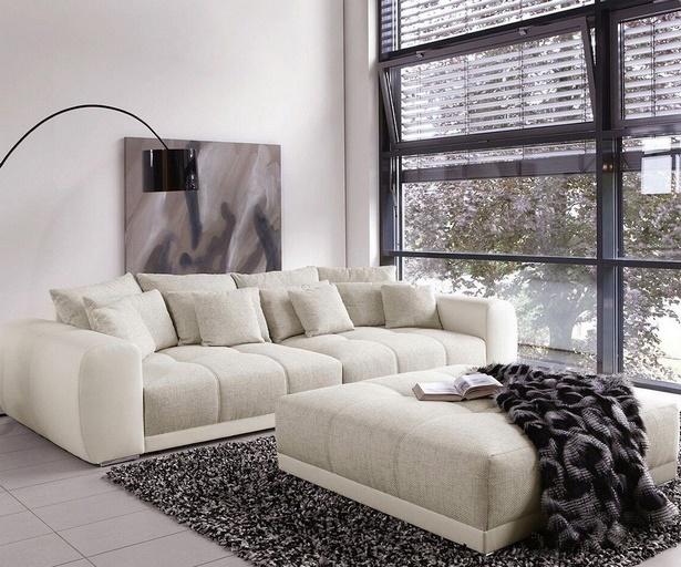 Große couch kleines wohnzimmer