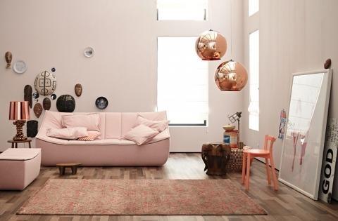 gro e couch kleines wohnzimmer. Black Bedroom Furniture Sets. Home Design Ideas