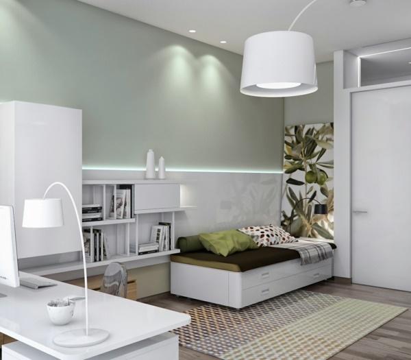 g stezimmer mit b ro einrichten. Black Bedroom Furniture Sets. Home Design Ideas