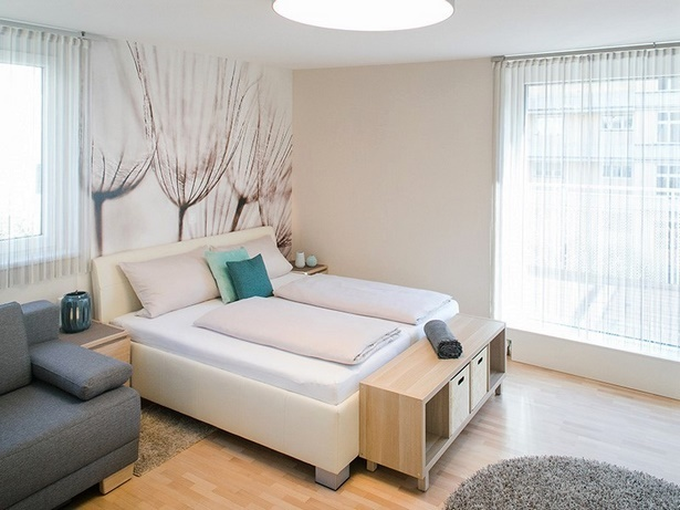 kleine ein zimmer wohnung einrichten. Black Bedroom Furniture Sets. Home Design Ideas