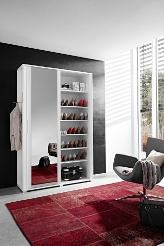 kleine flur garderoben. Black Bedroom Furniture Sets. Home Design Ideas