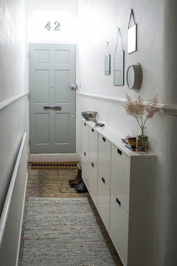 lange flure farblich gestalten. Black Bedroom Furniture Sets. Home Design Ideas