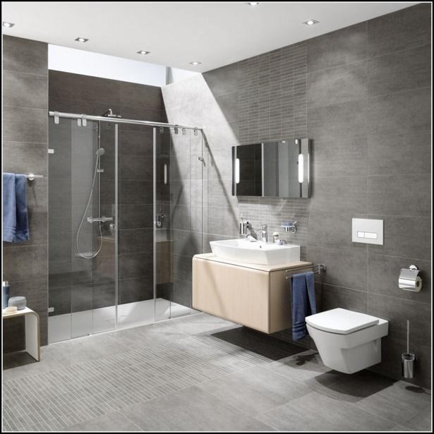 Badgestaltung Fliesen Beispiele Wohndesign: Moderne Badgestaltung Ohne Fliesen