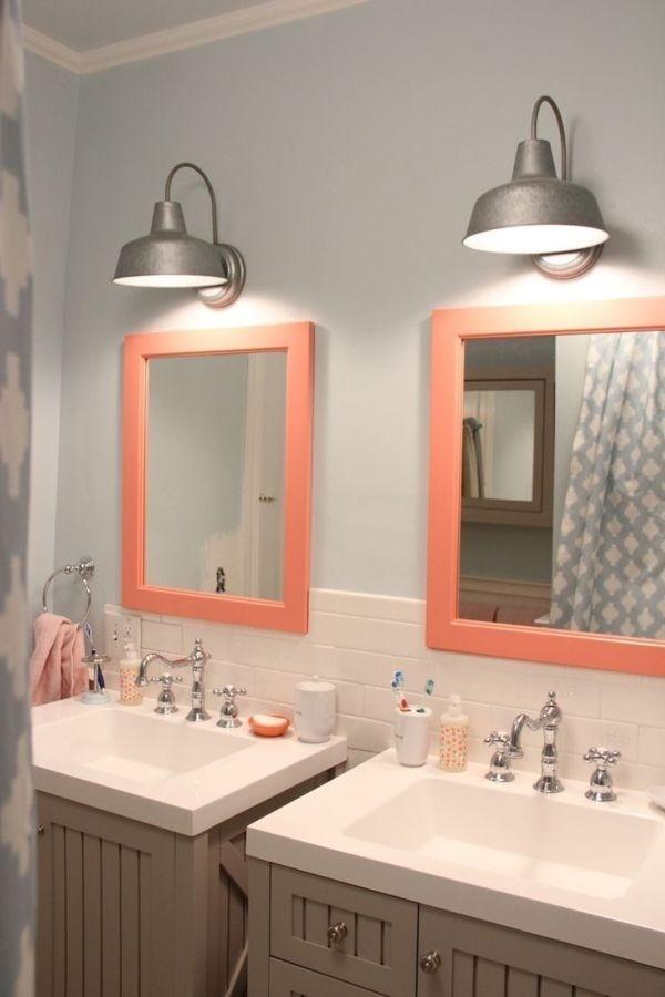 Spiegel ideen f rs bad - Badezimmerlampen spiegel ...