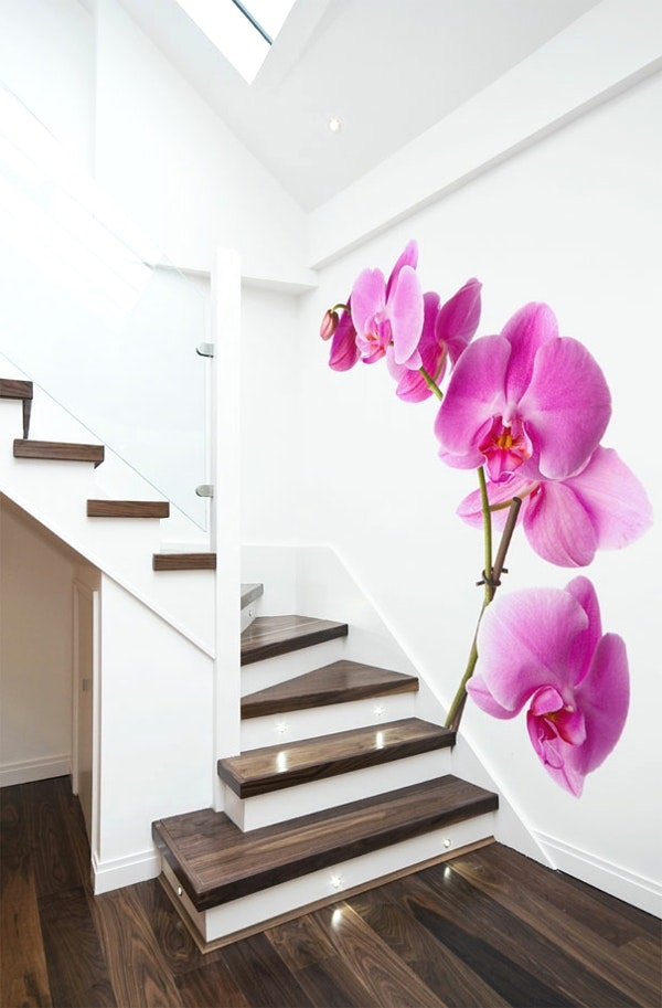 Wandgestaltung flur treppenhaus