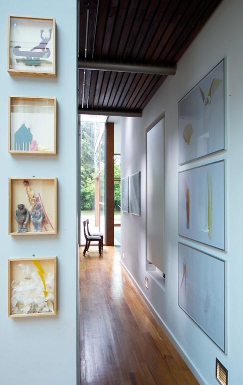 Wandgestaltung langer flur for Wandgestaltung kleiner flur