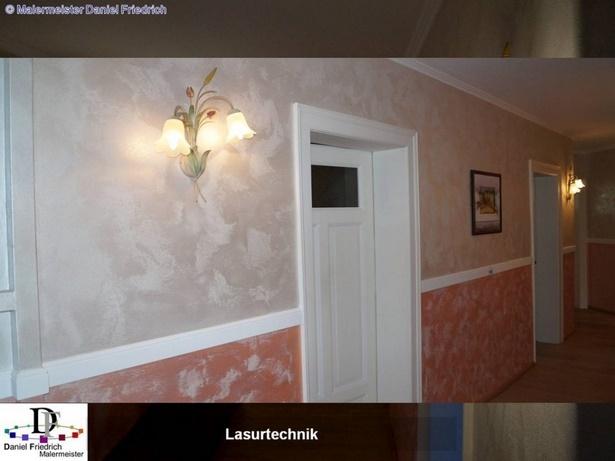 Wandgestaltung treppenhaus flur