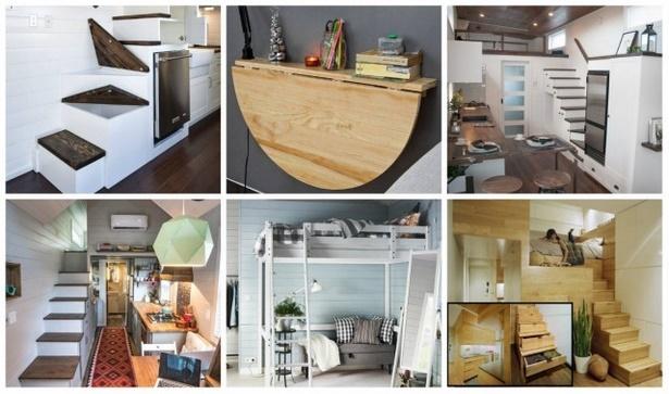 wohnung platzsparend einrichten. Black Bedroom Furniture Sets. Home Design Ideas
