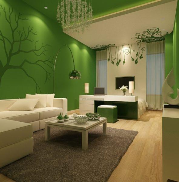 Wohnzimmer schwarzes sofa