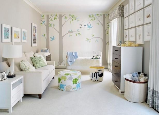Babyzimmer wandfarben ideen for Wandfarben ideen