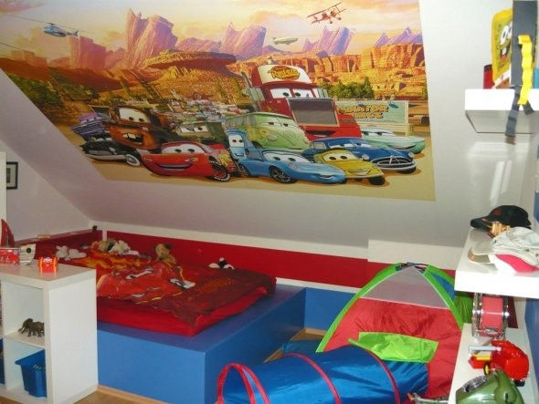 cars kinderzimmer gestalten. Black Bedroom Furniture Sets. Home Design Ideas